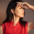 """""""世界小姐""""张梓琳,红色长裙配9千6的小短"""