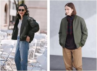 优衣库时尚外套,六大款型,六种风